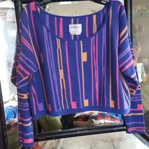 Nasty Gal Alien Parallel Universe Sweater M